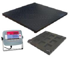 FW Range Painted Mild Steel Platform & Ohaus T31P ABS Indicator
